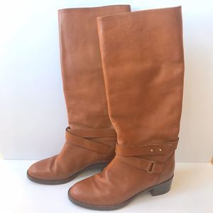 J. Crew Boots Parker Riding Chester Brown Leather